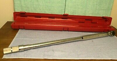 """CLEAN Proto 1"""" Drive Ratcheting Head Torque Wrench 140-700 ft-lbs, J6022B,"""