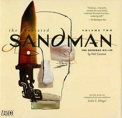 Annotated Sandman HC (DC/Vertigo) 2-1ST 2012 NM Stock Image