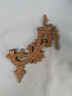 Victorian style Cast Iron Oil Lamp Wall Sconce Bracket Lamp Holder ARM