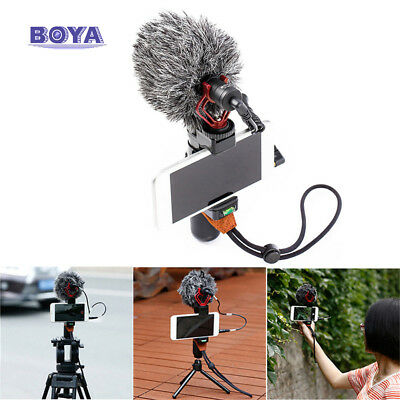BY-MM1 Cardiod Shotgun Video Microphone MIC Video for Samsung iPhone Camera