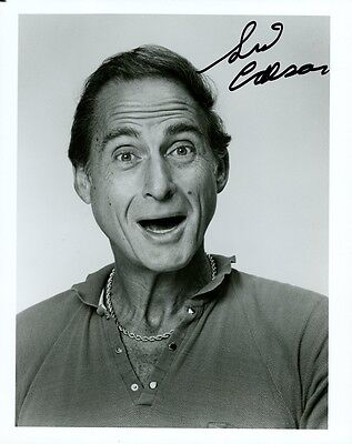 SID CAESAR In-person Signed Photo