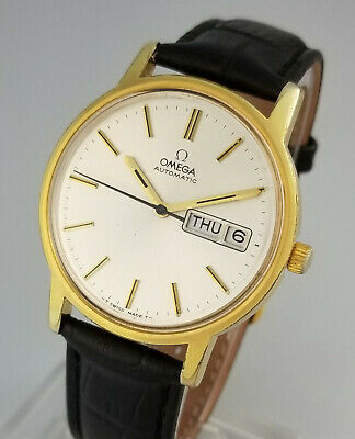 Vintage Omega 1020 Automatic Mens Day Date Wrist Watch – Mint Dial - 166.0117