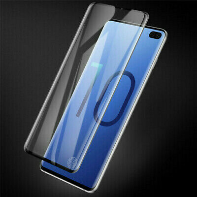 For Samsung Galaxy S10 S10e Plus Clear Tempered Glass Screen Protector Film 3D