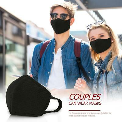 Unisex PM 2.5 Pollen Dust Cotton Mouth Face Mask Respirator Cycling Washable