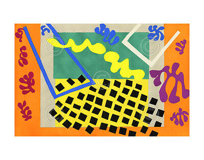 ABSTRACT ART PRINT - The Codomas, 1947 by Henri Matisse Modern Poster 11x14