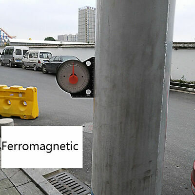 0.1degree Magnetic Inclinometer Protractor Tilt Level  Angle Clinometer Slope
