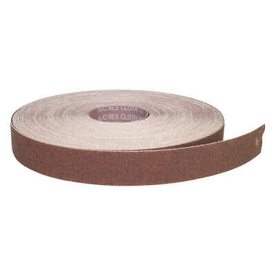 GRAINGER APPROVED Abrasive Roll,150 ft. L,Medium,P60 Grit, 05539510340, Brown
