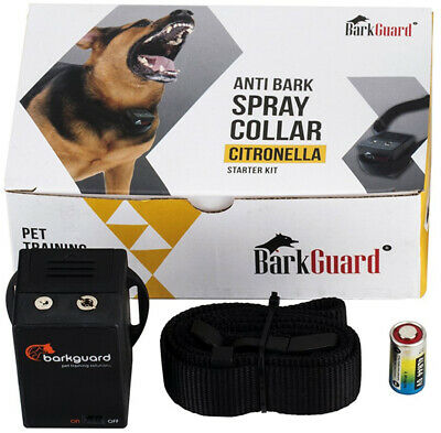 Barkguard BT-88C Citronella Automatic Anti Bark Spray Stop Barking Dog Training