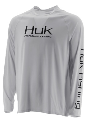 HUK Performance Fishing Pursuit Vented LS Tops, Long Sleeve - : H1200150-100-XL