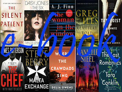 The New York Times Best Sellers Fiction March 2019 collection set pack10[EbФФk]