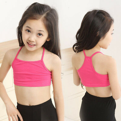 Hot Summer Baby Children Girls Tank Tops Vest Casual Sleeveless Crop T-Shirt