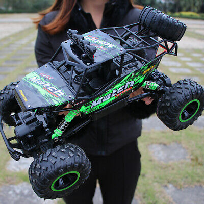 4WD 2.4GHz RC Monster Truck Off-Road Vehicle Remote Control Buggy Crawler Toys