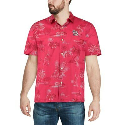 a5ee7b71 TEXAS RANGERS TOMMY Bahama Coastal Fronds Button-Up Shirt - Navy ...