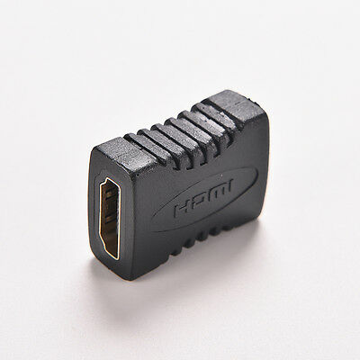 hdmi Female to Female F/F Coupler Extender.Adapter Connector for HDCP HDTV 10 ca