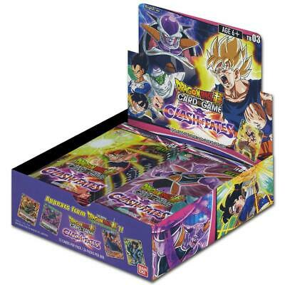 DragonBall Super TCG - Clash of Fates Booster Display - Englisch