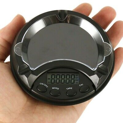 Ashtray Shape Electronic Scale Jewelry Weighing High Precision Portable Pocket