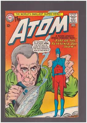 Atom # 16  Fate of the Flattened Out Atom !  grade 8.5 scarce book !