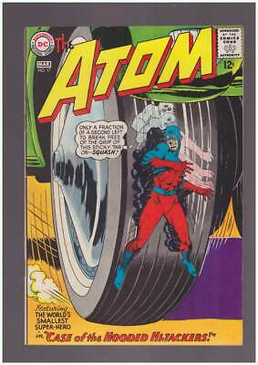 Atom # 17  Case of the Hooded Hijackers !  grade 8.5 scarce book !