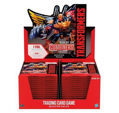 Transformers TCG - Rise of the Combiners - Booster Display - Englisch
