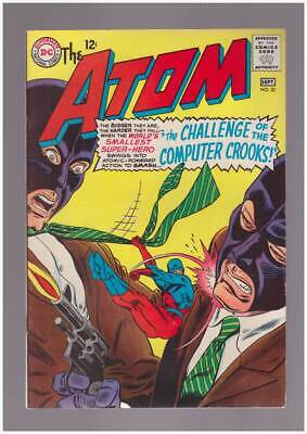 Atom # 20  The Challenge of the Computer Crooks !  grade 8.5 scarce book !