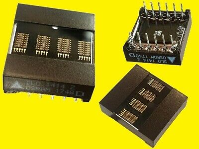 DLO1414 -20 LED Alphanumeric DOT matrix Display 4 DIGIT 5x7 Rot 1 Stück