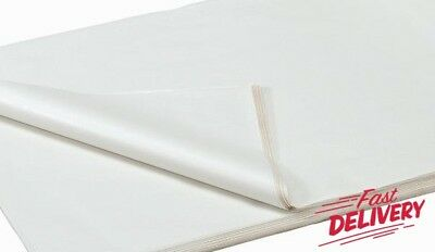 White Acid Free Tissue Wrapping Paper Size 500 X 700Mm 18 X 28""