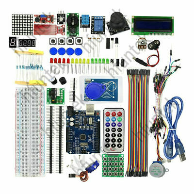 Arduino UNO R3 Upgraded Version Learning Suite RFID Learning Starter Kit Set New