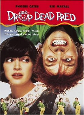 Drop Dead Fred (DVD, 2003) VERY RARE OOP BRAND NEW PHOEBE CATES 1991