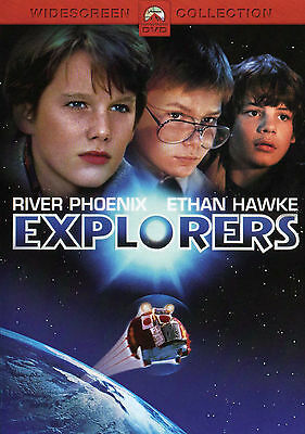 Explorers (DVD 2004) RARE 1985 ETHAN HAWKE AND RIVER PHOENIX 1ST FILM BRAND NEW