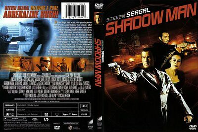 Shadow Man (DVD, 2006) RARE STEVEN SEAGAL W/ SPECIAL SLIPCOVER BRAND NEW