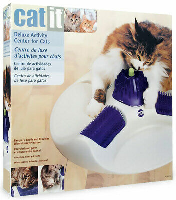 Catit Deluxe Cat Activity Centre Cat Massager
