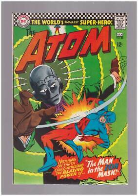 Atom # 25  Blazing Power of the Man in the Ion Mask !  grade 8.5 scarce book !