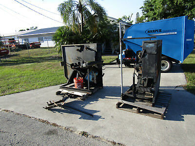 Set of 2 Machines Iron Mike MA5 Commercial Pitching Machine