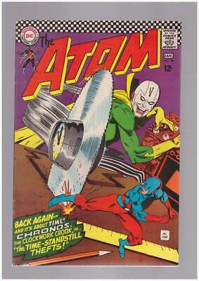 Atom # 28  The Time-Standstill Thefts !  grade 8.5 scarce book !