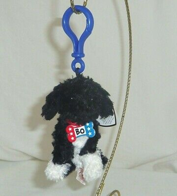 Ty Bo the Portugese Dog Clip Blue Color Clip
