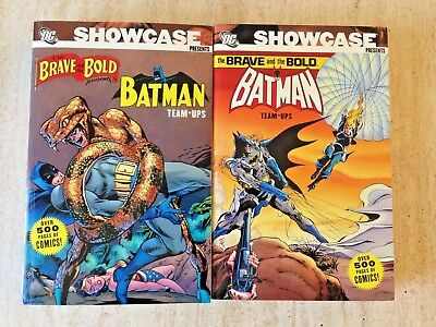 Showcase Presents Brave And Bold Vols. 1-2 | 1,048 Pages Of Batman Team-Ups!