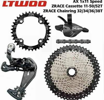 LTWOO MTB 1x11 Speed Groupset  AX11 46T 50T 52T Cassette/Chainring 11S group
