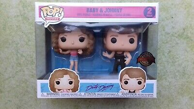 marvel,funko,pop,DIRTY DANCING,baby,johnny,2-pack,exclusive,baby et johnny,neuf