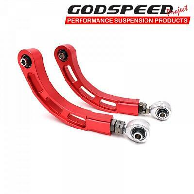 Fits 07-12 Caliber Adjustable Camber Rear Arms With Spherical Bearings Steel ...