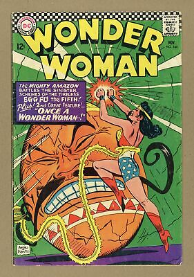 Wonder Woman (1st Series DC) #166 1966 GD/VG 3.0