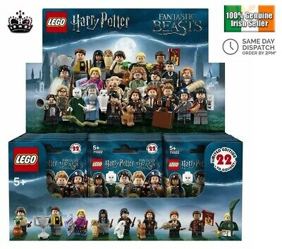 Full Brand New Box With 60 Lego Harry Potter Fantastic Beasts Mini figures 71022
