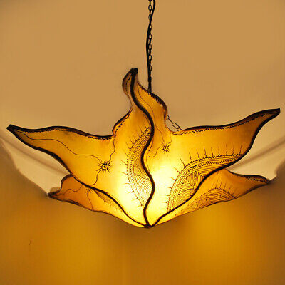 Oriental Lamp Henna Lamp Ceiling Light Moroccan Oriental Starfish Yellow 60