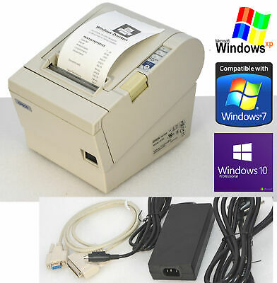 Receipt Printer epson TM-T88III RS-232 for Windows 2000 XP 7 8 10 #88-1