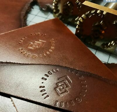 Custom Made Leather / wood Stamp Logo Carving Tools Seal Hot Branding Iron
