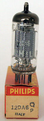 NOS Philips 12DA6 (UF89) Tube