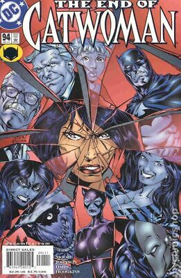 Catwoman (2nd Series) #94 2001 FN- 5.5 Stock Image Low Grade