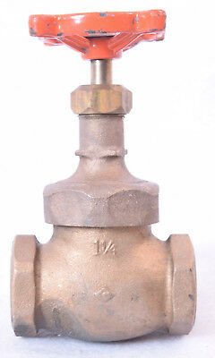 "Stockham Brass Glove Valve 1-1/4"" Fig. B-22T"