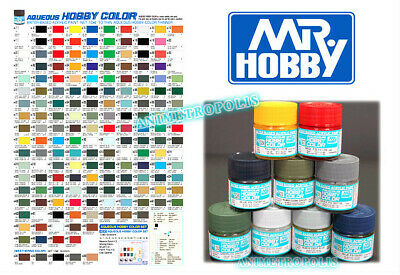 Mr. Hobby Aqueous Acrylic Color H1-H467 Hobby Gunze GSI Model Kit Paint 10ml New