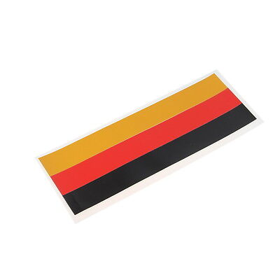 1x 30mm*251mm Decor New Stickers Front Grille Grill Decal German Flag For BMW M5