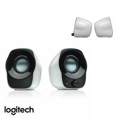 Logitech Z120 USB Compact Mini Stereo Speakers for Music Players PC AU